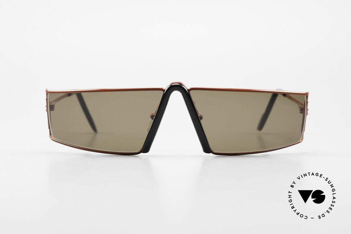 Ferrari F19/S Sonnenbrille Wie XL Lesebrille, F19/S = designed wie eine übergroße Lesebrille, Passend für Herren