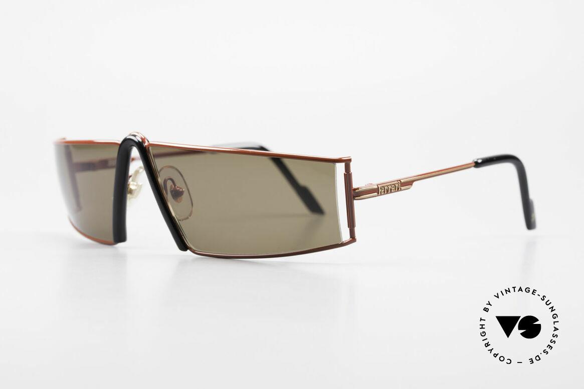 Ferrari F19/S Sonnenbrille Wie XL Lesebrille, auffällig & elegant zugleich (Gr. 67/12, col. 580), Passend für Herren
