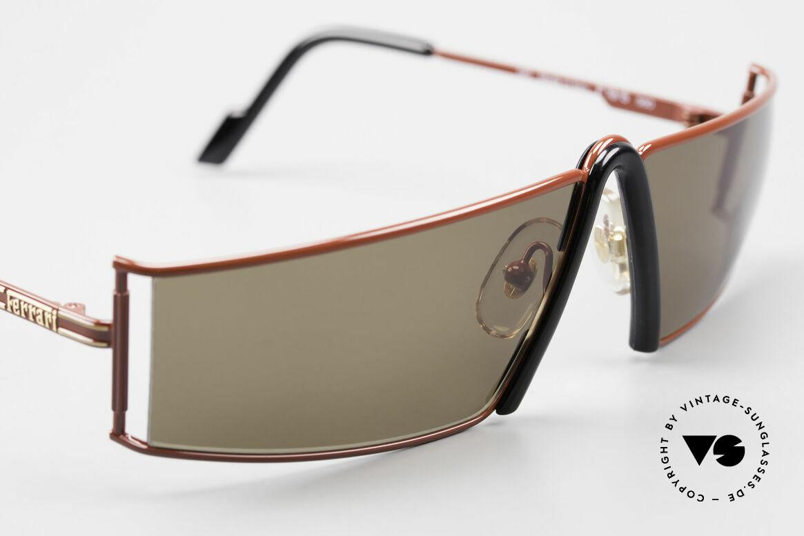 Ferrari F19/S Sonnenbrille Wie XL Lesebrille, ungetragen; wie alle unsere Ferrari Sonnenbrillen, Passend für Herren
