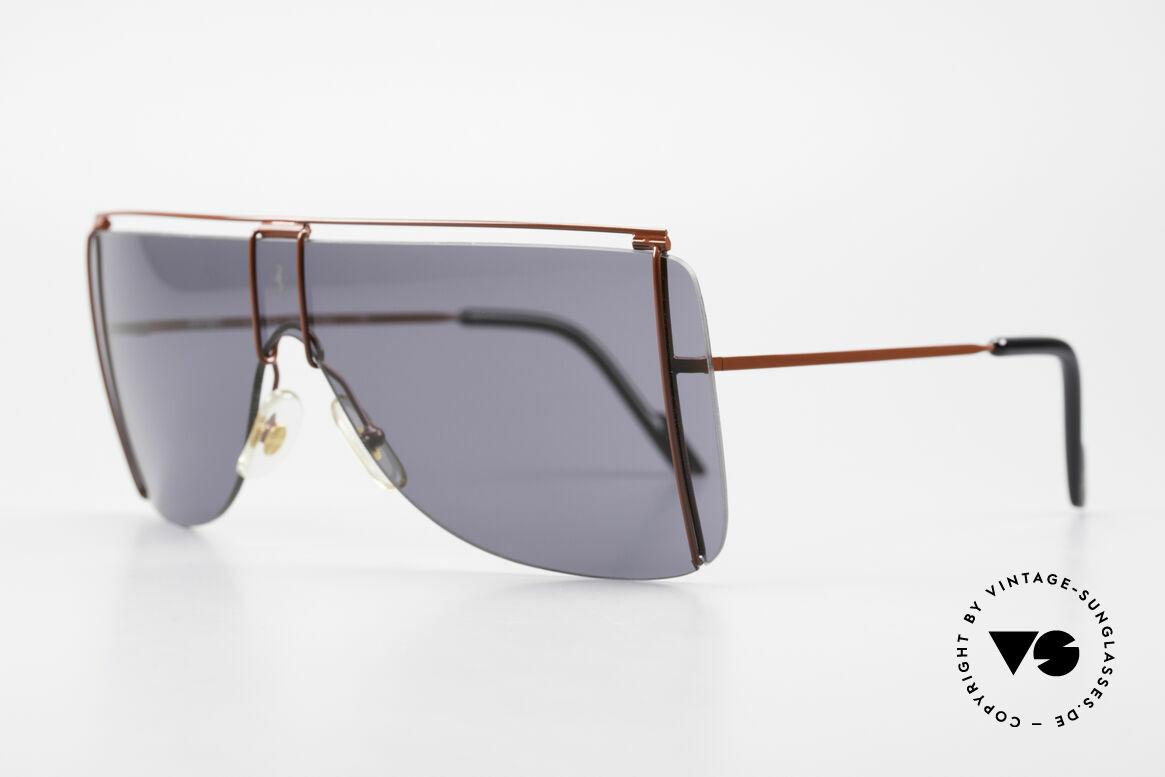 Ferrari F20/S Kylie Jenner Luxus Sonnenbrille, sehr stilvolles & elegantes Mode-Accessoire, Passend für Herren und Damen