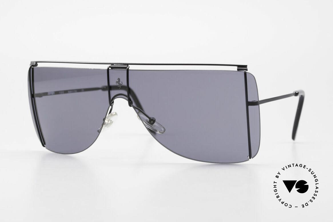 Ferrari F20/S Luxus Sonnenbrille Kylie Jenner, 90er Luxus Sport-Sonnenbrille von Ferrari, Passend für Herren und Damen