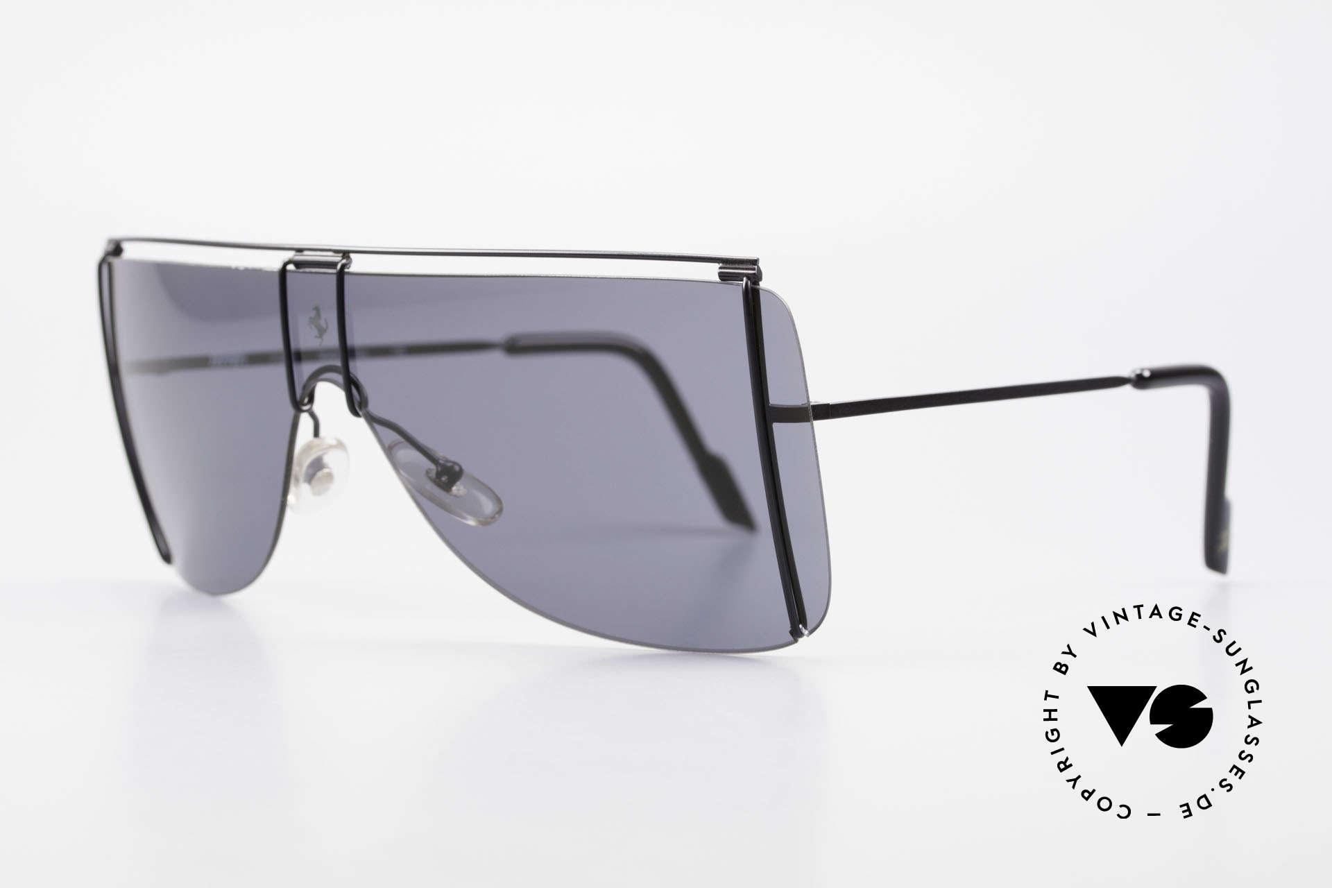 Ferrari F20/S Luxus Sonnenbrille Kylie Jenner, sehr stilvolles & elegantes Mode-Accessoire, Passend für Herren und Damen