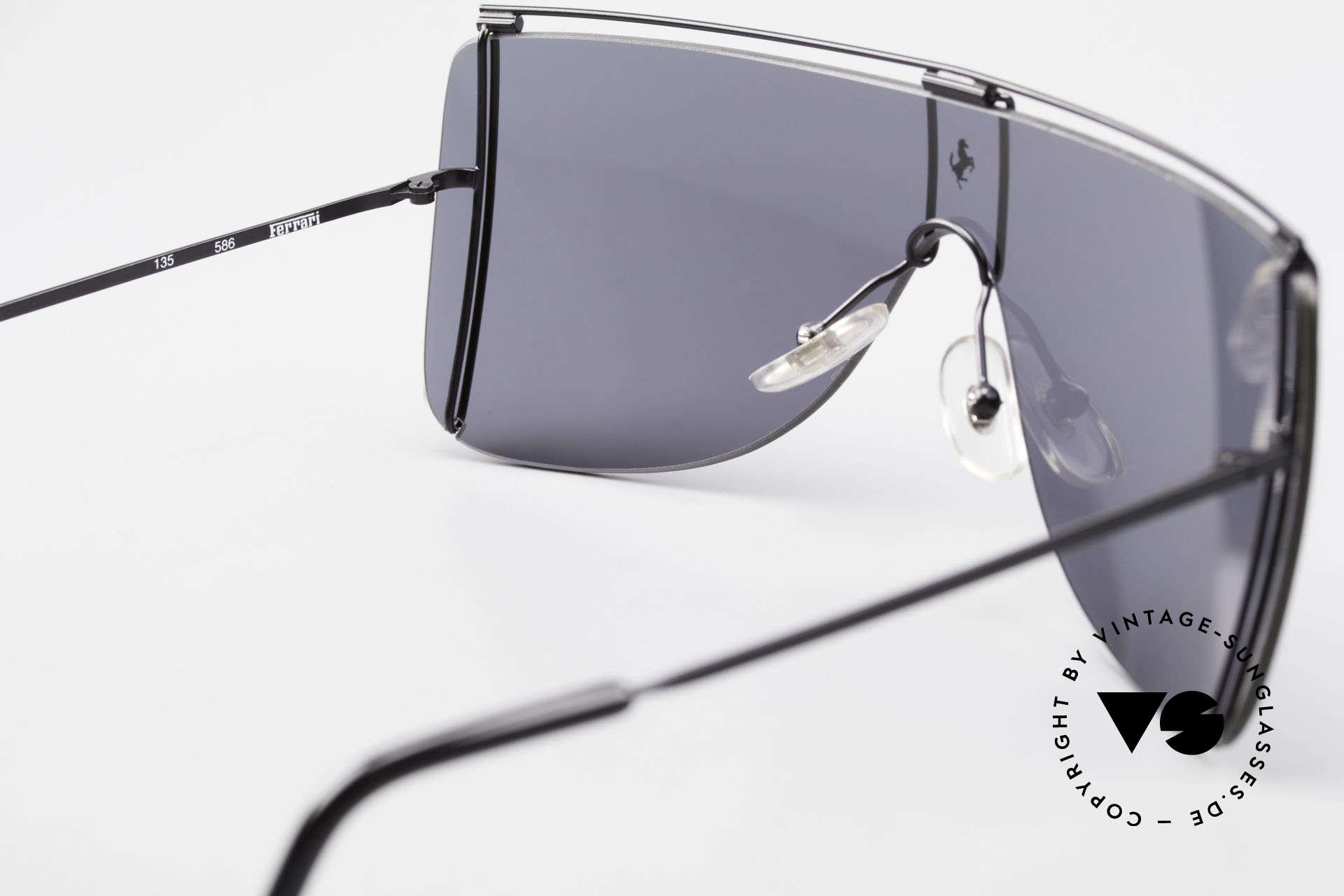 Ferrari F20/S Luxus Sonnenbrille Kylie Jenner, KEINE Retromode, sondern ein altes Unikat!, Passend für Herren und Damen