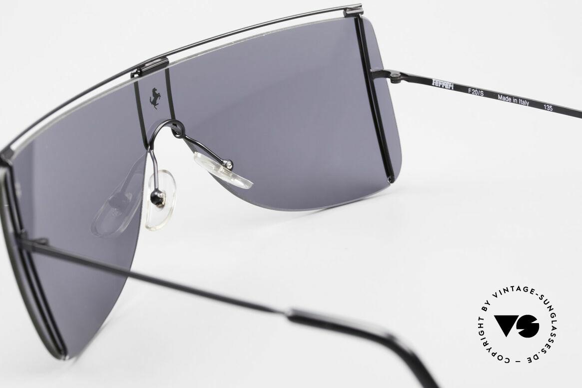 Ferrari F20/S Luxus Sonnenbrille Kylie Jenner, Größe: medium, Passend für Herren und Damen