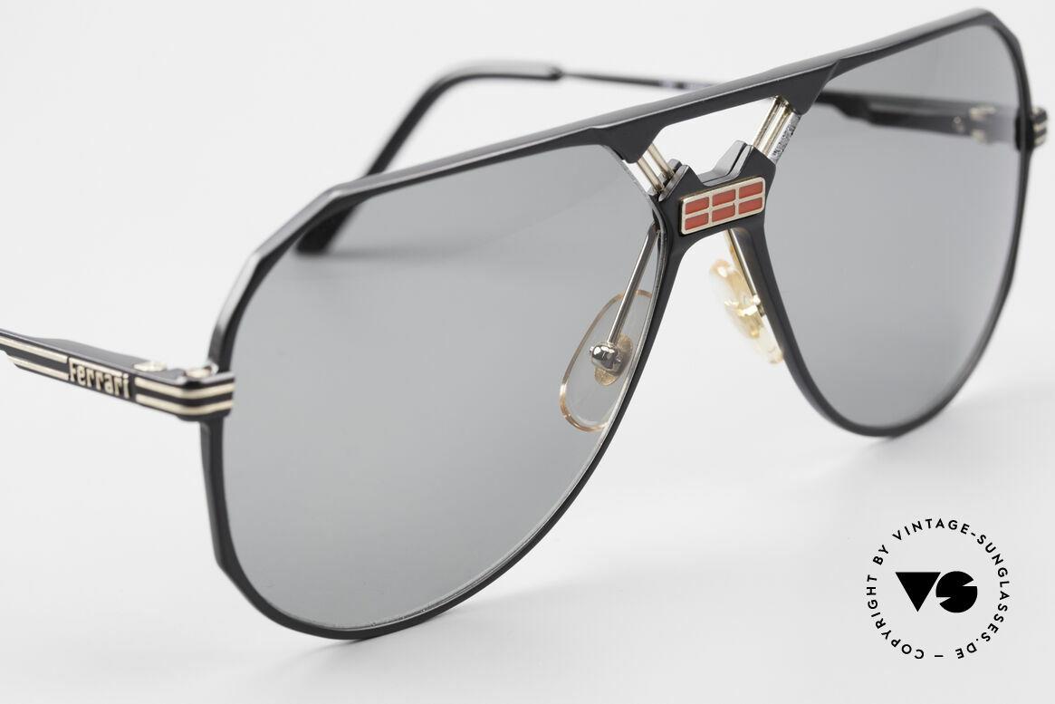 Ferrari F23/S Sport Aviator Sonnenbrille, ungetragen (wie alle unsere FERRARI Sonnenbrillen), Passend für Herren