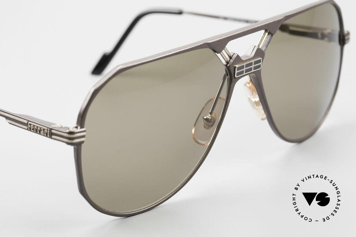 Ferrari F23/S Aviator Sport Sonnenbrille, ungetragen (wie alle unsere FERRARI Sonnenbrillen), Passend für Herren