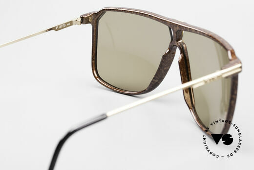 Ferrari F37/S 90er XL Sonnenbrille Karbon, KEINE Retro-Sonnenbrille; eine echte alte Rarität!, Passend für Herren