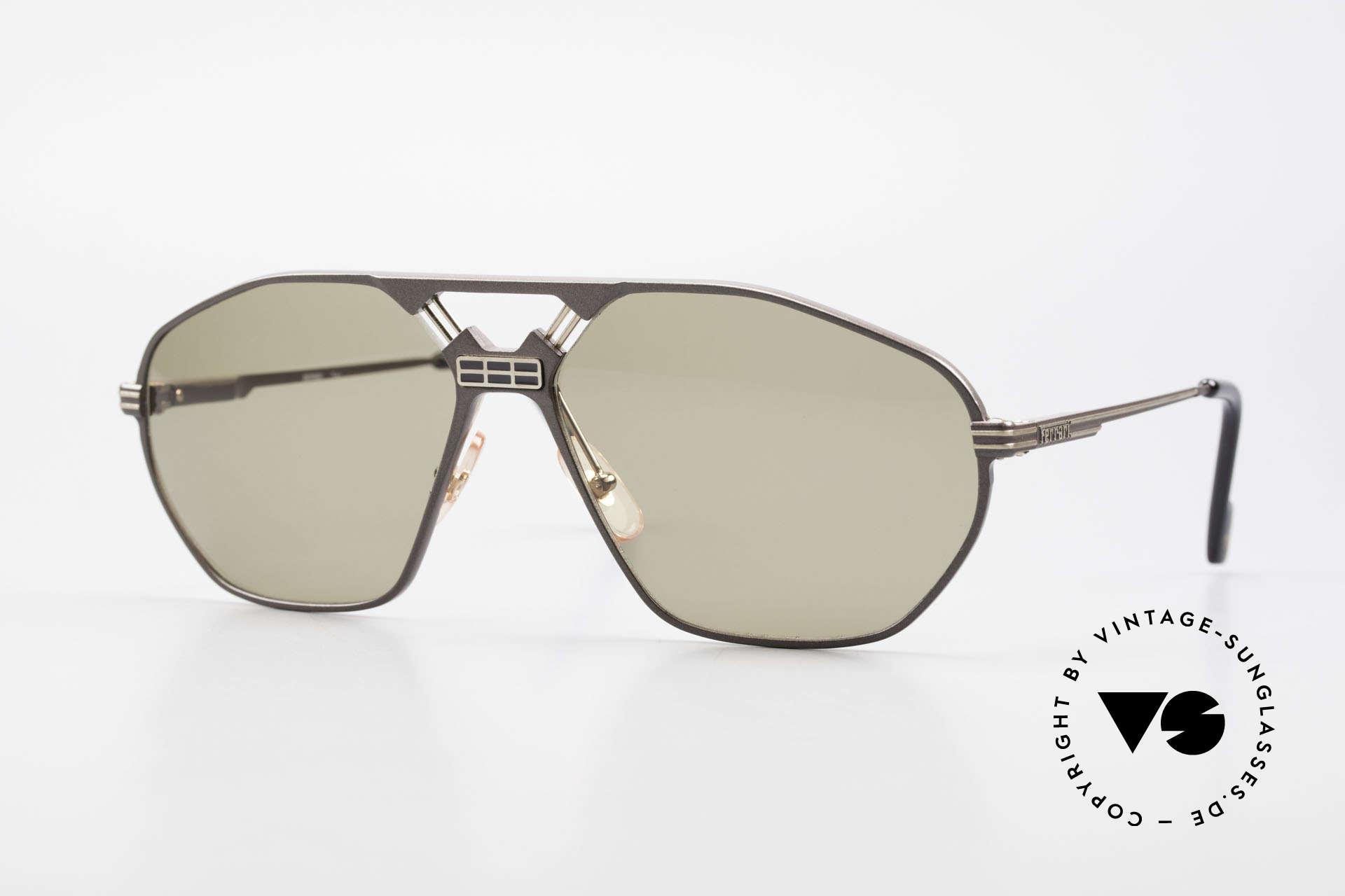 Ferrari F22/S XL Luxus Sonnenbrille Herren, luxuriöse Ferrari vintage Sonnenbrille der 1990er, Passend für Herren