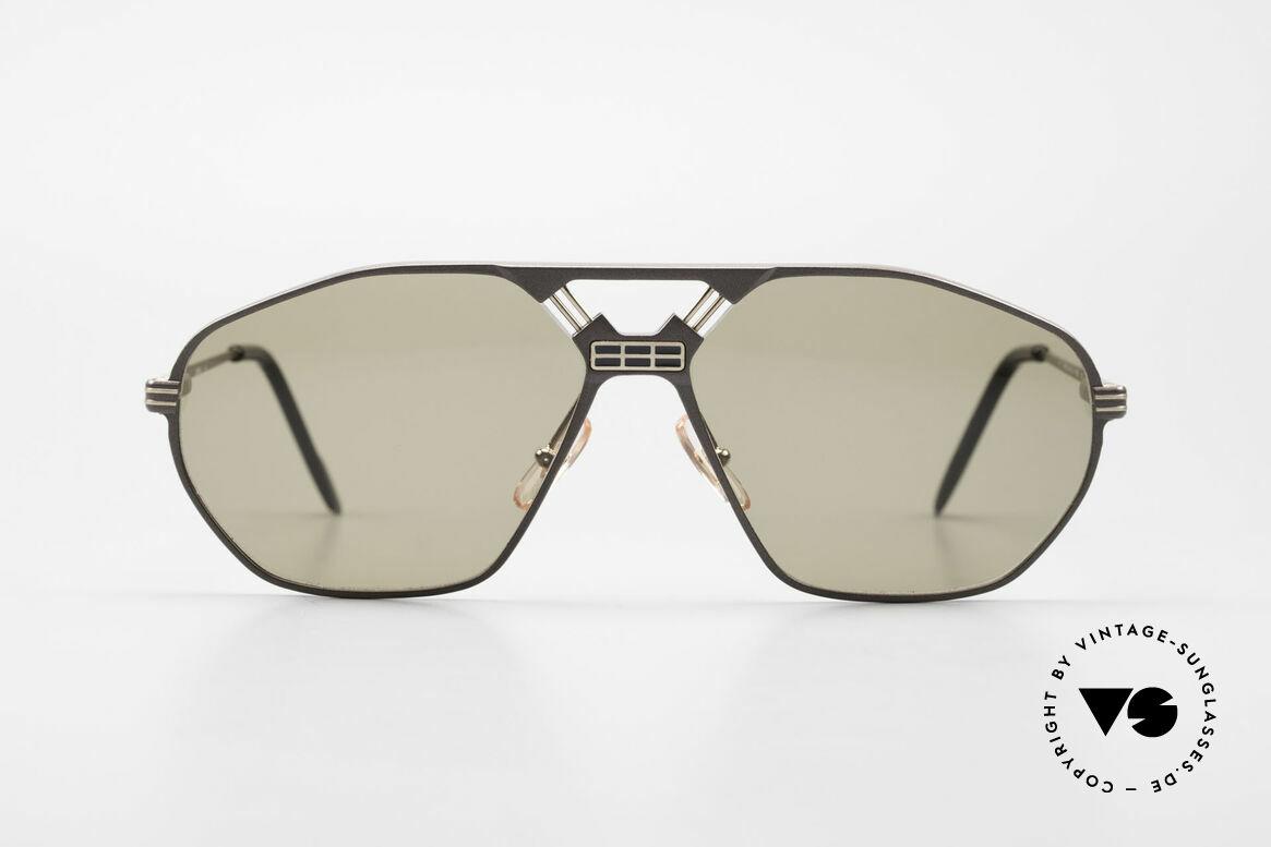Ferrari F22/S XL Luxus Sonnenbrille Herren, sehr markantes Design von Brücke und Nasensteg, Passend für Herren