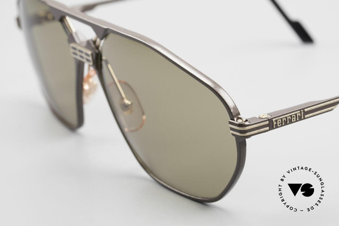 Ferrari F22/S XL Luxus Sonnenbrille Herren, ungetragen (wie all unsere Luxus-Lifestyle Brillen), Passend für Herren