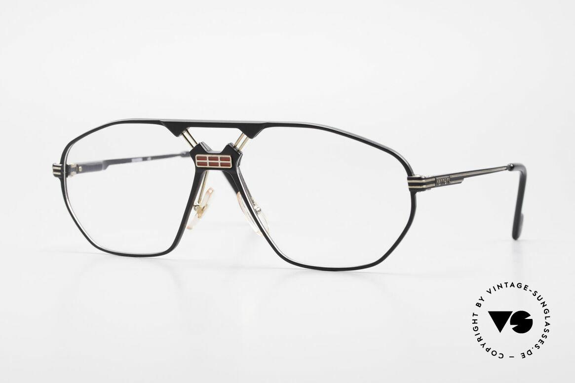 Ferrari F22 Luxus Herrenbrille 90er Large, luxuriöse Ferrari vintage Brillenfassung der 90er, Passend für Herren