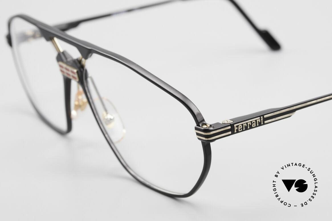 Ferrari F22 Luxus Herrenbrille 90er Large, ungetragen (wie all unsere Luxus-Lifestyle Brillen), Passend für Herren