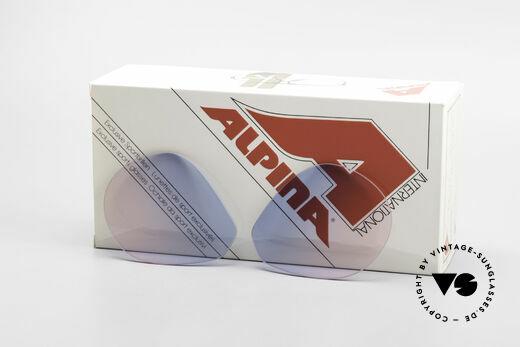 Alpina M1 Lenses Neue Gläser in Baby-Blau Pink Details