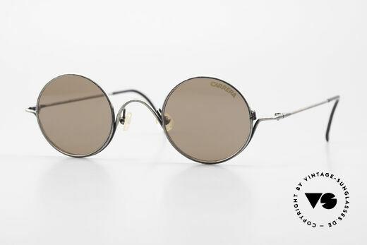 Carrera 5566 Runde Vintage Sonnenbrille Details