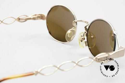 Moschino MM344 Designer Damen Sonnenbrille, KEINE RETROBRILLE; ein schönes altes ORIGINAL!, Passend für Damen