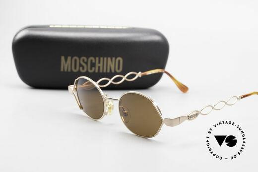 Moschino MM344 Designer Damen Sonnenbrille, Größe: medium, Passend für Damen
