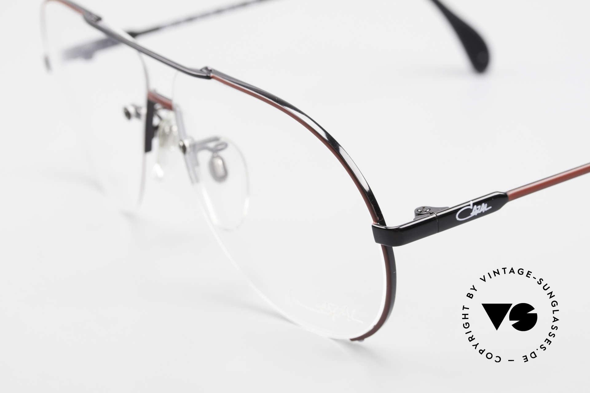Cazal 723 Randlose 80er Pilotenbrille, mal etwas ganz anderes (charakteristisch CAZAL), Passend für Herren