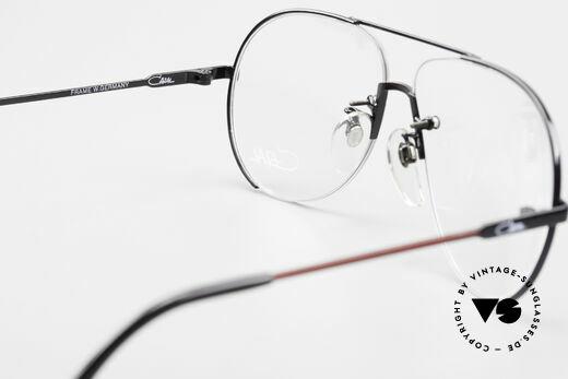 Cazal 723 Randlose 80er Pilotenbrille, KEINE RETROMODE; ein 30 Jahre altes Original!, Passend für Herren