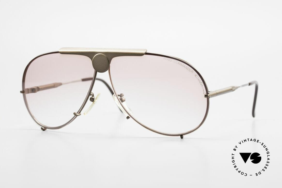 Colani 10-401 Einstellbare Bügellänge 80er, sehr auffällige Luigi COLANI Sonnenbrille der 80er, Passend für Herren