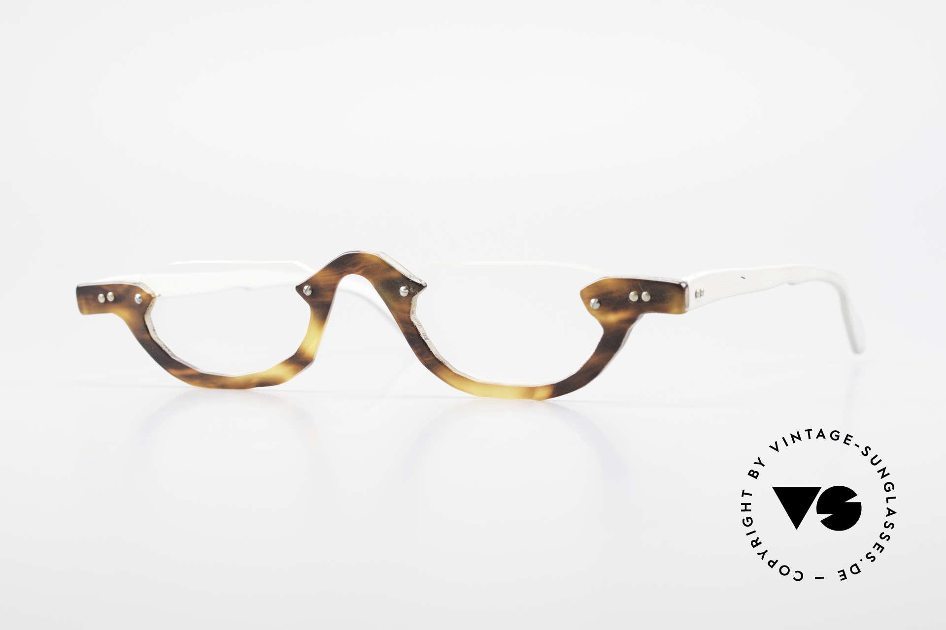 Theo Belgium Eye-Witness AE17 Crazy Vintage Lesebrille Titan, Theo Belgium: die eigenwilligste Brillenmarke, weltweit, Passend für Herren und Damen