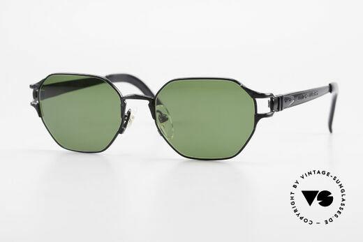 Jean Paul Gaultier 58-4173 Eckige JPG 90er Designerbrille Details