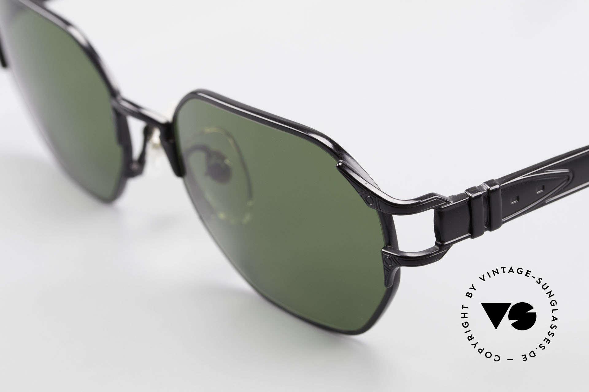 Jean Paul Gaultier 58-4173 Eckige JPG 90er Designerbrille, hochwertige CR39 Gläser (100% UV Protection), Passend für Herren und Damen