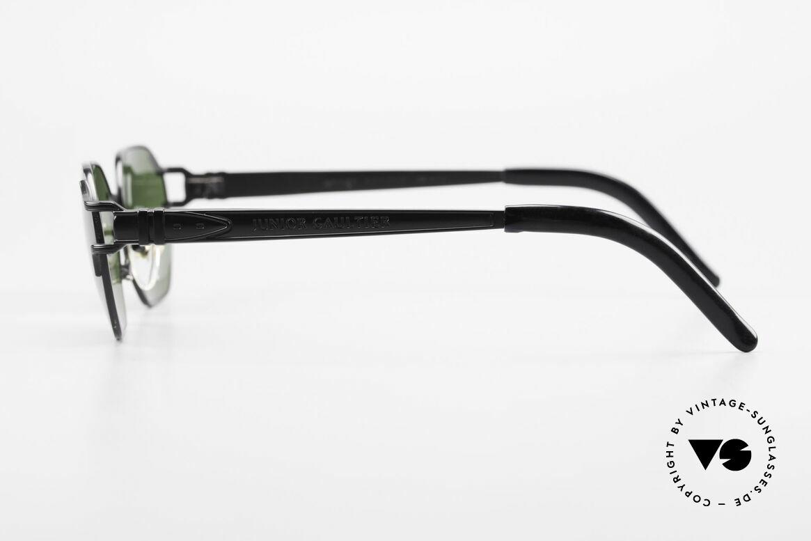 Jean Paul Gaultier 58-4173 Eckige JPG 90er Designerbrille, ungetragen (wie jede alte JPG Sonnenbrille hier), Passend für Herren und Damen