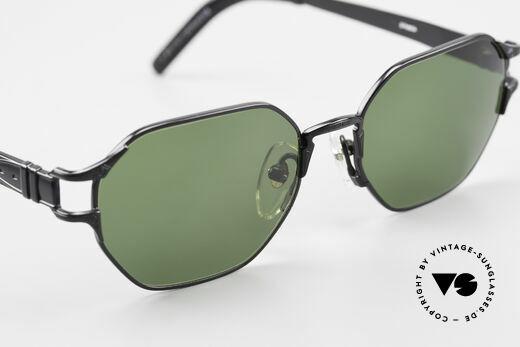 Jean Paul Gaultier 58-4173 Eckige JPG 90er Designerbrille, KEINE Retrobrille, sondern ein vintage Original, Passend für Herren und Damen