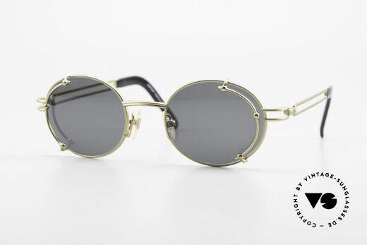 Yohji Yamamoto 52-4107 Designer Sonnenbrille Oval Details