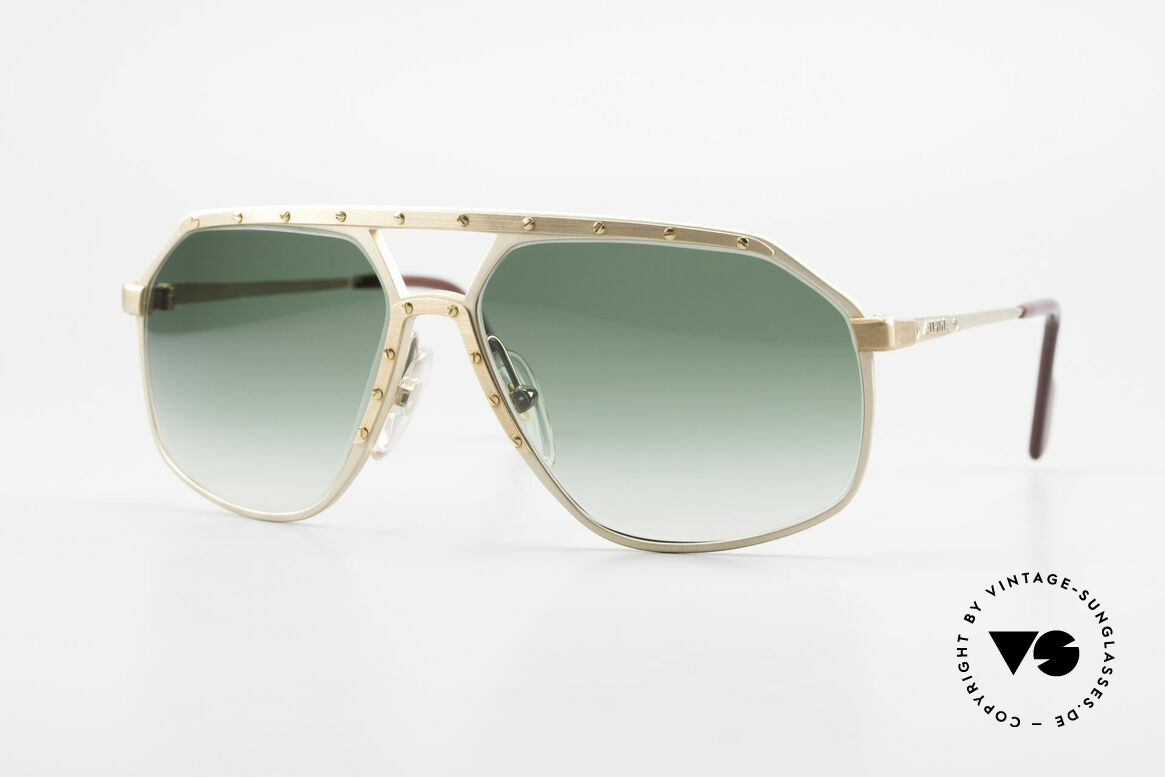Alpina M6 Legendäre 80er Sonnenbrille, legendäre Alpina M6 vintage Designer-Sonnenbrille, Passend für Herren