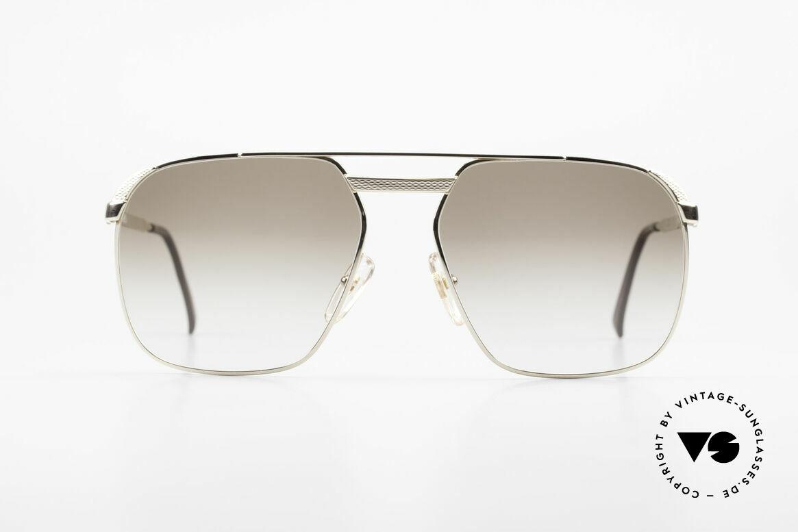 Dunhill 6011 Vergoldete 80er Herrenbrille, vintage A. Dunhill Gentleman-Sonnenbrille von 1984, Passend für Herren