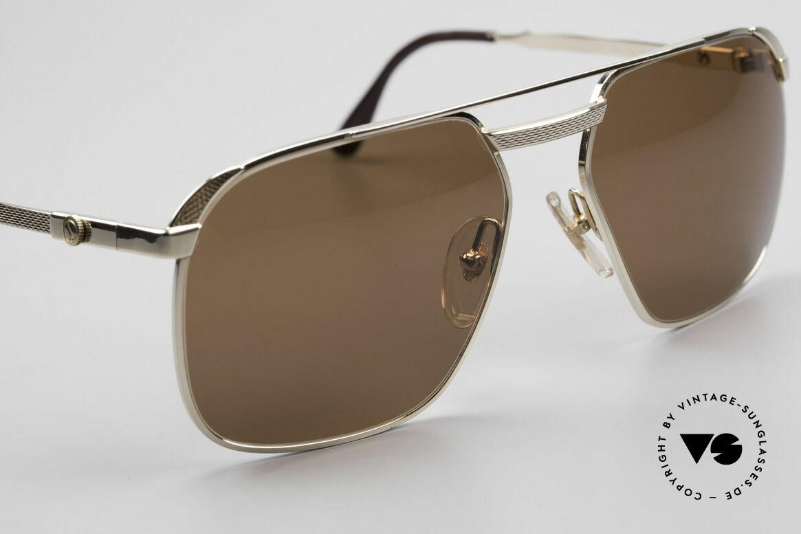 Dunhill 6011 Vergoldete Herrenbrille 80er, ungetragen (wie alle unsere VINTAGE Dunhill Brillen), Passend für Herren