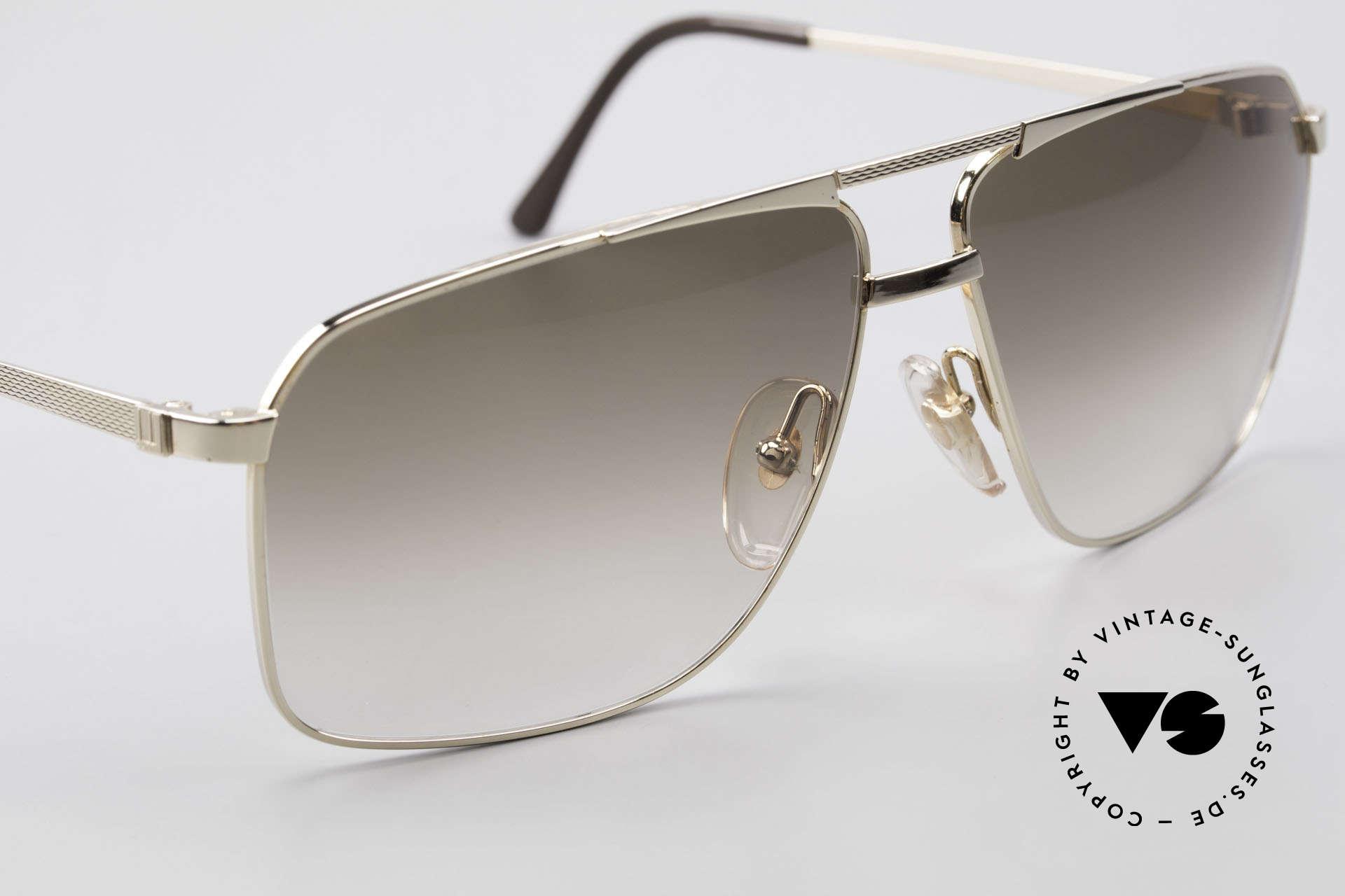 Dunhill 6126 Vergoldete 90er Herrenbrille, ungetragene Rarität (für alle Liebhaber von Qualität), Passend für Herren