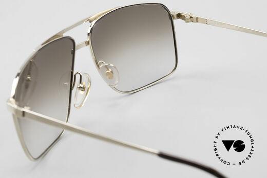 Dunhill 6126 Vergoldete 90er Herrenbrille, KEIN RETRO, sondern ein kostbares altes ORIGINAL, Passend für Herren