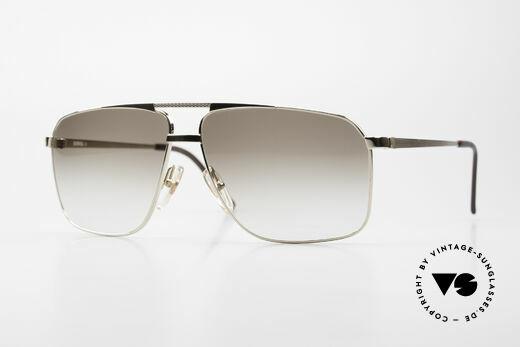 Dunhill 6126 Vergoldete 90er Herrenbrille Details