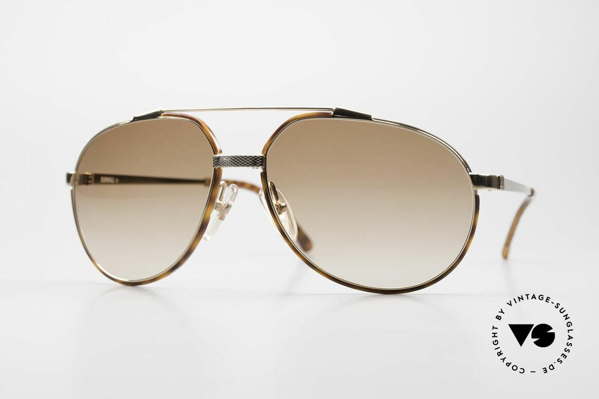 Dunhill 6174 Comfort Fit Luxus Brille 90er, Comfort-Fit: federnde Brücke für optimale Form, Passend für Herren
