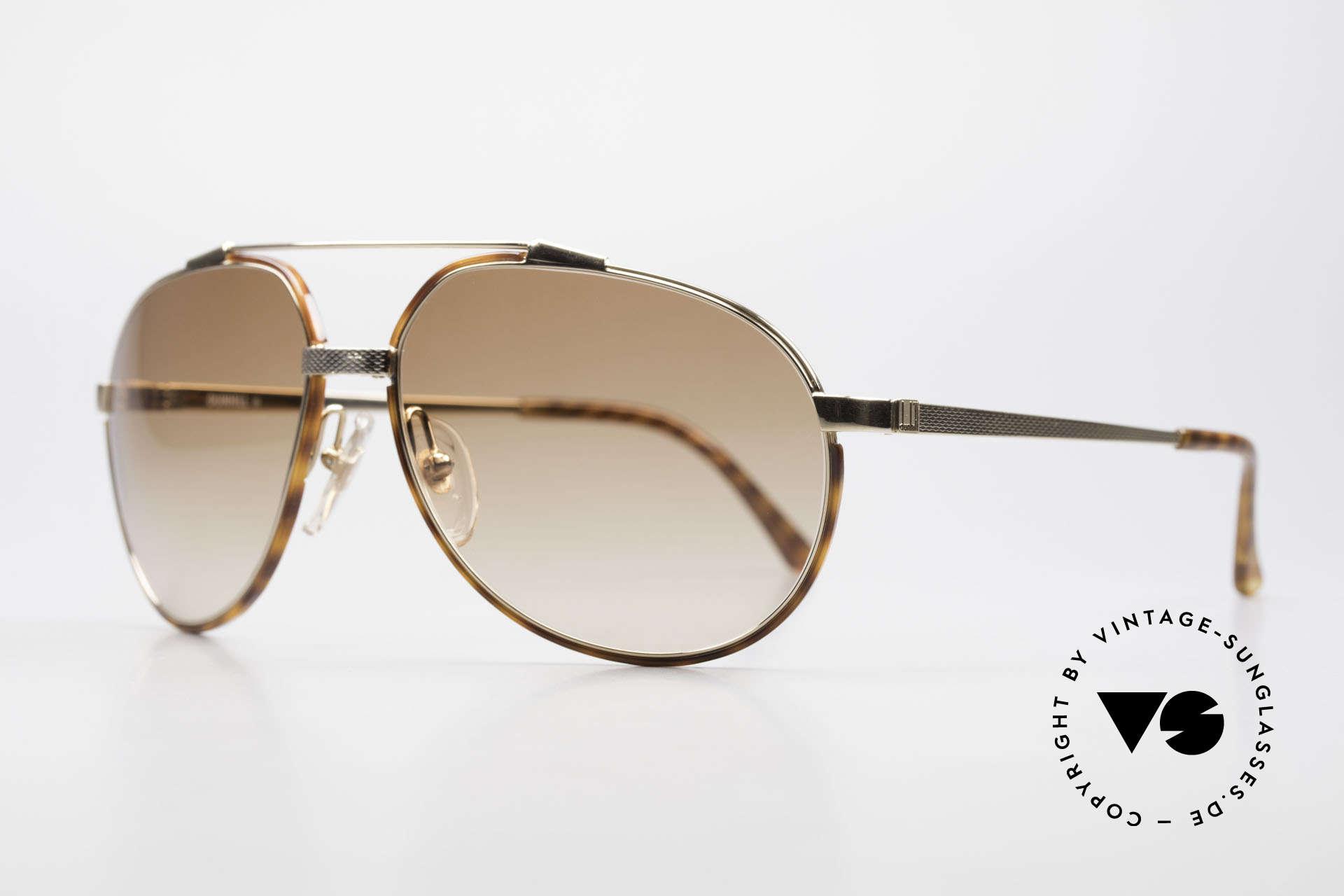 Dunhill 6174 Comfort Fit Luxus Brille 90er, vergoldet & Barley Verfahren (winzige Facetten), Passend für Herren