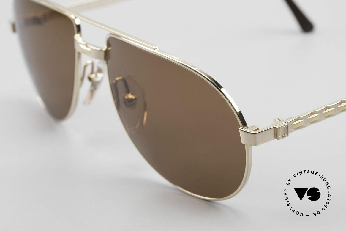Dunhill 6147 90er Luxus Aviator Herrenbrille, ein absoluter KLASSIKER für den vornehmen Gentleman, Passend für Herren