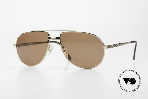 Dunhill 6147 90er Luxus Aviator Herrenbrille Details