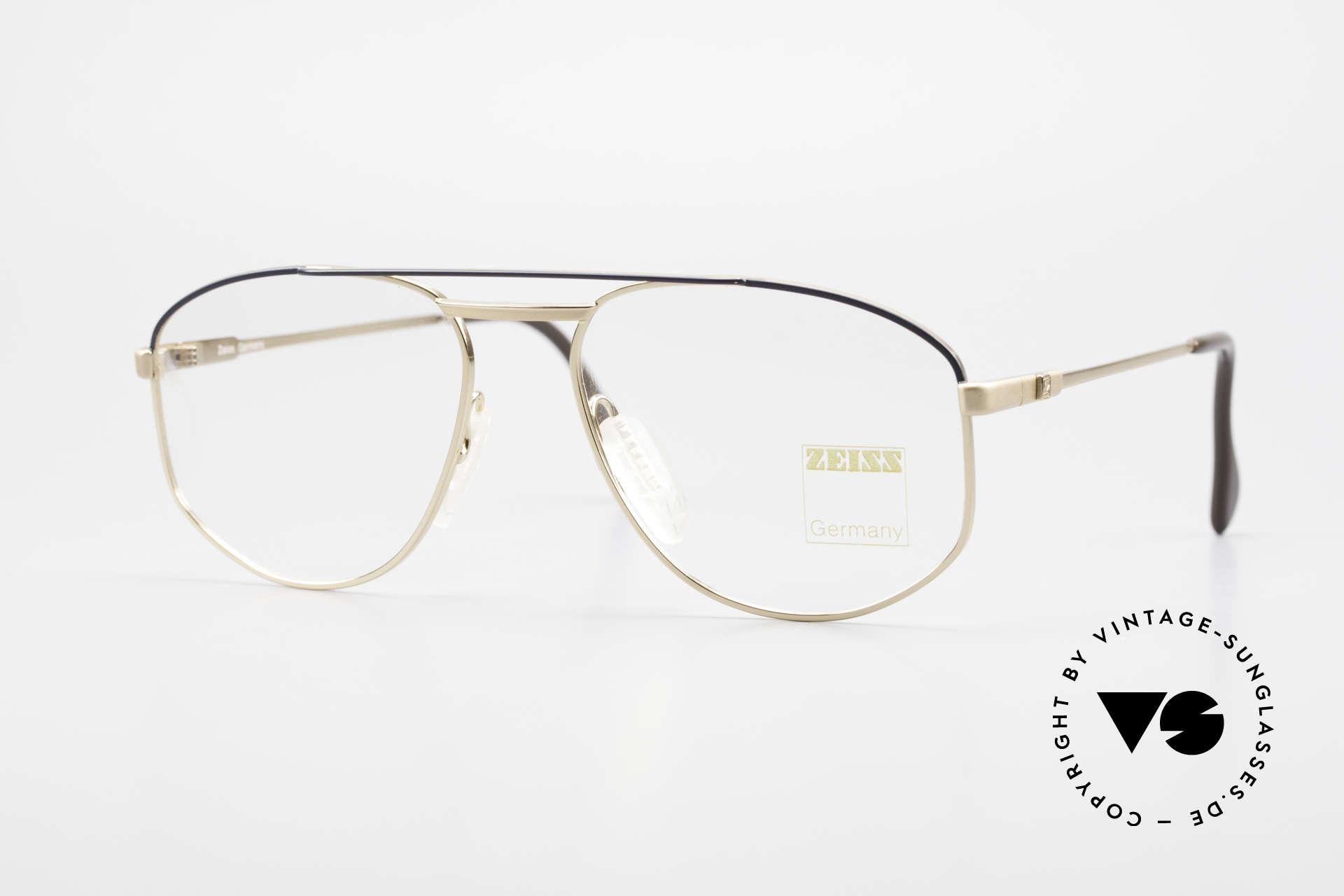 Zeiss 5923 Original Alte 90er Fassung, robuste Zeiss vintage Brillenfassung von circa 1990, Passend für Herren