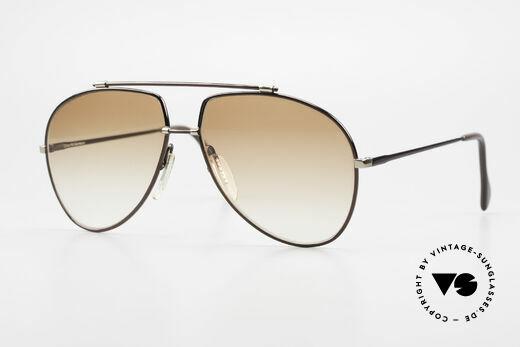 Zeiss 9371 Alte 80er Aviator Sonnenbrille Details
