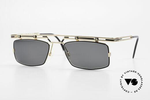 Cazal 975 Eckige Vintage Sonnenbrille Details
