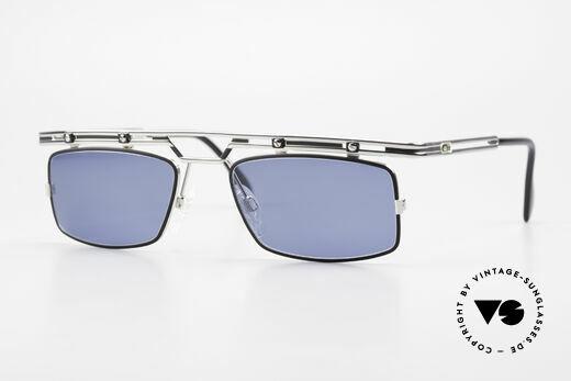 Cazal 975 Eckige Cazal Sonnenbrille 90er Details