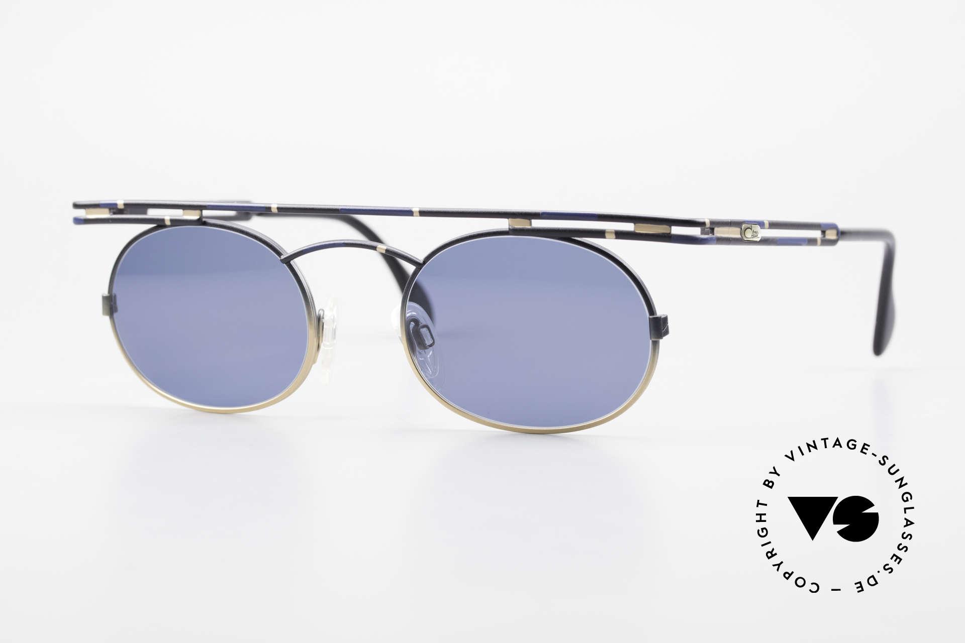 Cazal 761 Alte 90er Cazal Sonnenbrille, ausdrucksstarke CAZAL vintage Brille von 1997, Passend für Herren und Damen