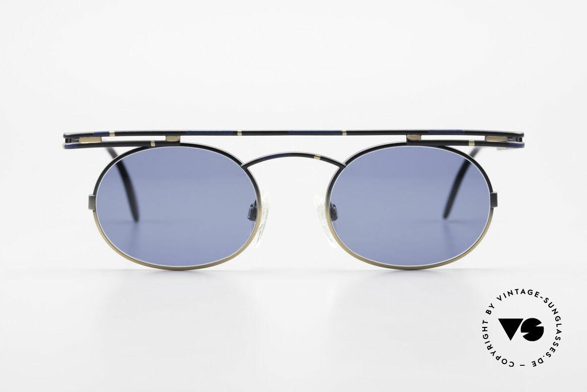 Cazal 761 Alte 90er Cazal Sonnenbrille, rund und kantig zugleich; ein echter Hingucker, Passend für Herren und Damen