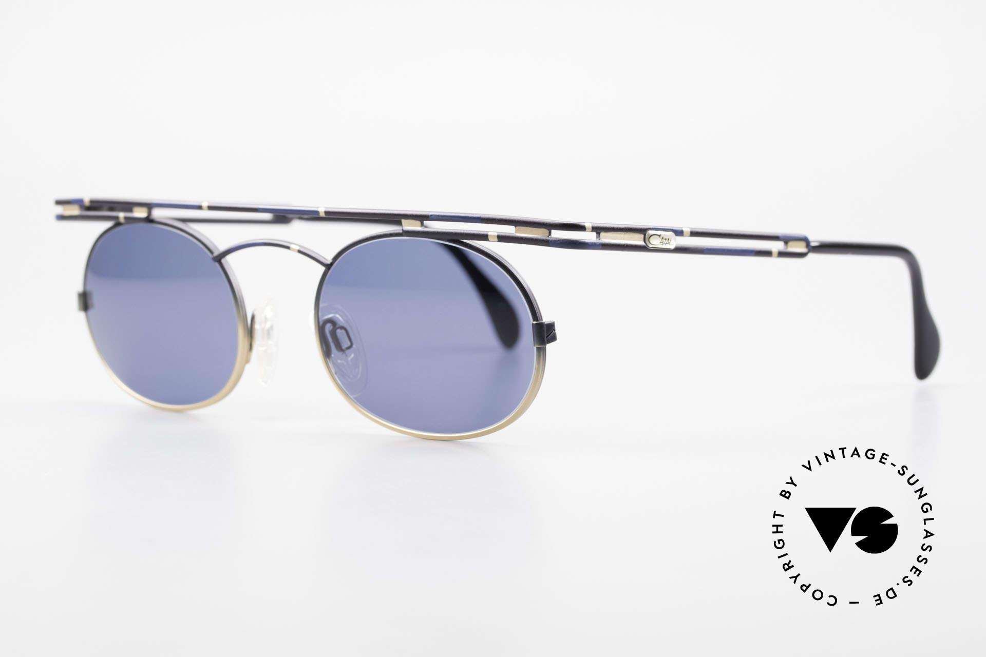Cazal 761 Alte 90er Cazal Sonnenbrille, beste Verarbeitungsqualität 'made in Germany', Passend für Herren und Damen