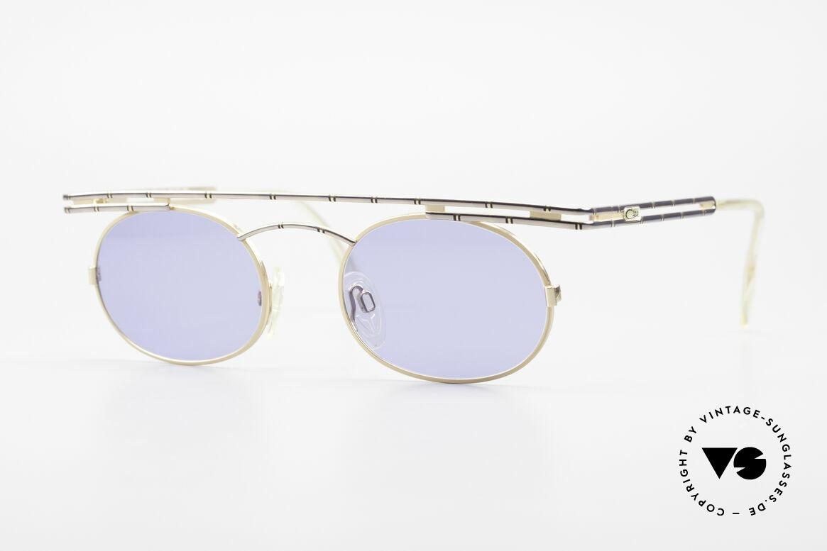 Cazal 761 Alte 90er Original Sonnenbrille, ausdrucksstarke CAZAL vintage Brille von 1997, Passend für Herren und Damen