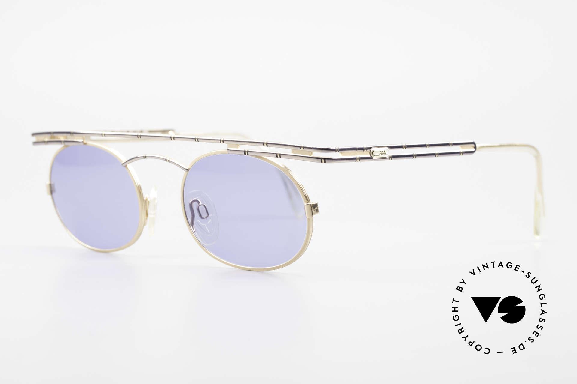 Cazal 761 Alte 90er Original Sonnenbrille, beste Verarbeitungsqualität 'made in Germany', Passend für Herren und Damen