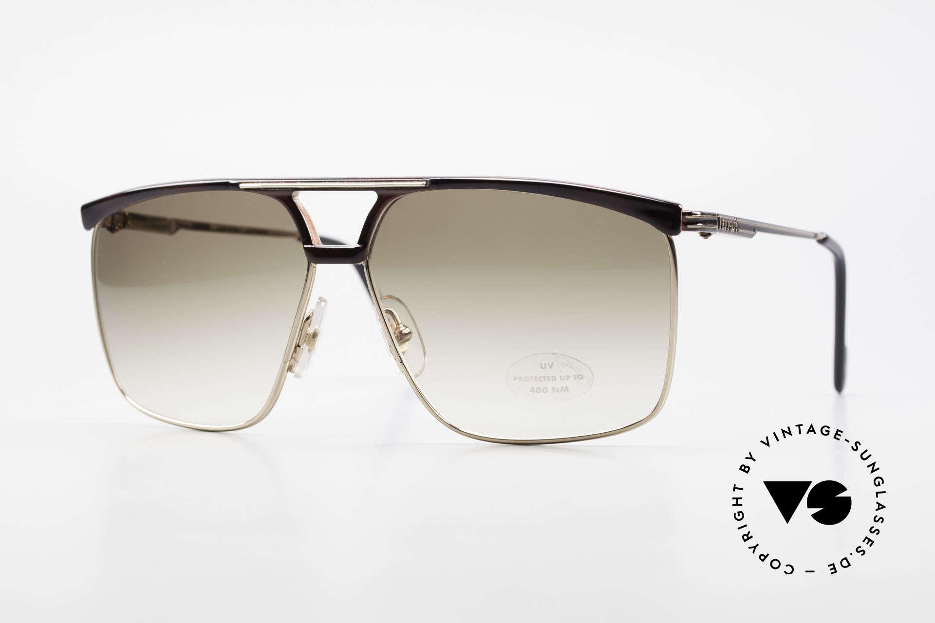 Ferrari F35 Alutanium Herrenbrille X-Large, maskuline FERRARI Formel 1 vintage Sonnenbrille, Passend für Herren