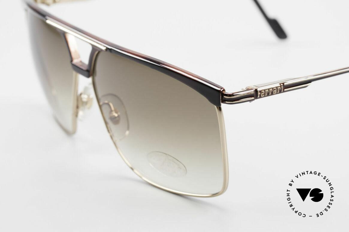 Ferrari F35 Alutanium Herrenbrille X-Large, ungetragen (wie all unsere Luxus-Lifestyle Brillen), Passend für Herren